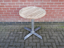 CFC0116 Round Flip Top Outdoor Table 600mm