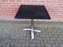 CFC0118 Sqaure Outddor Flip Top Table 70 x 70