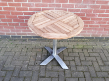 CFC0120 Round Outdoor Flip Top Table 70cm