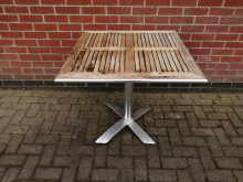 CFC0207 Square Outdoor Flip Top Table, 80cm x 80cm